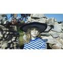 Dámský pruhovaný klobouk 1