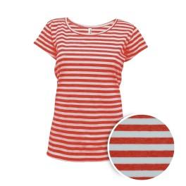 Dámské červené námořnické tričko