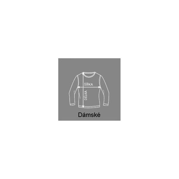561e299fffc1 Dámské pruhované tričko dlouhý rukáv · Dámské pruhované tričko ...