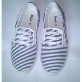Dámská pruhovaná obuv